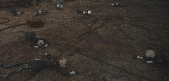 【FF14】人形タチノ軍事基地(ヨルハDA)
